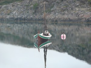 Norwegian traditional boat