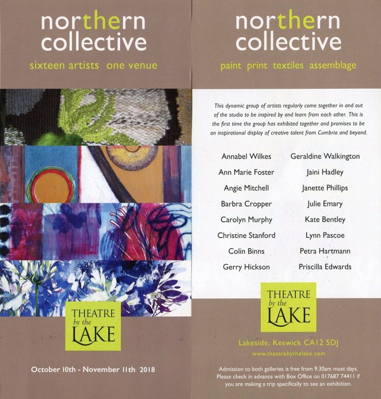 Image of the Northern Collective exhibition flyer