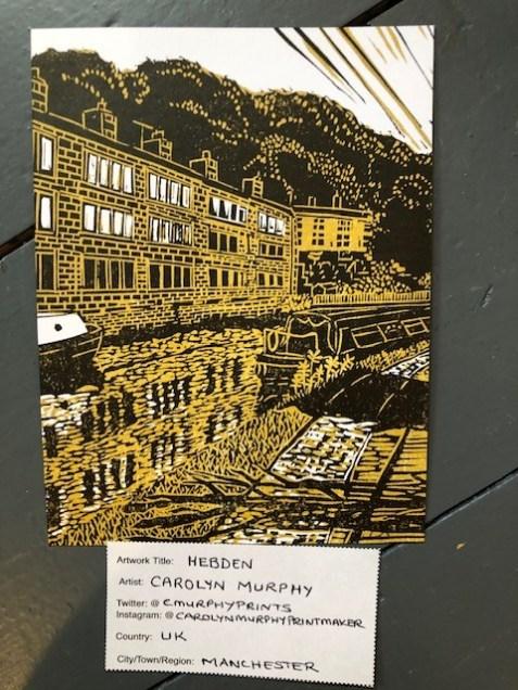 Image of Carolyn Murphy's 'Hebden' postcard