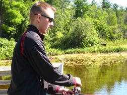 Kevin M. enjoyed fishing