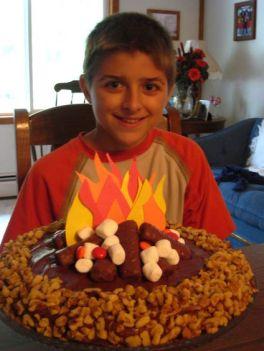 Jacob's Campfire Cake