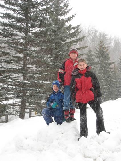 Zachary, Nicholas and Jacob