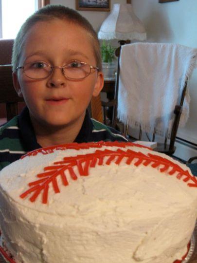 Nick's Baseball Cake