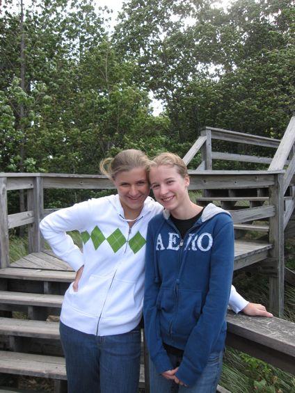 Kristi and Lissy