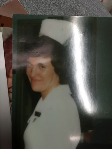 Me as a young nurse