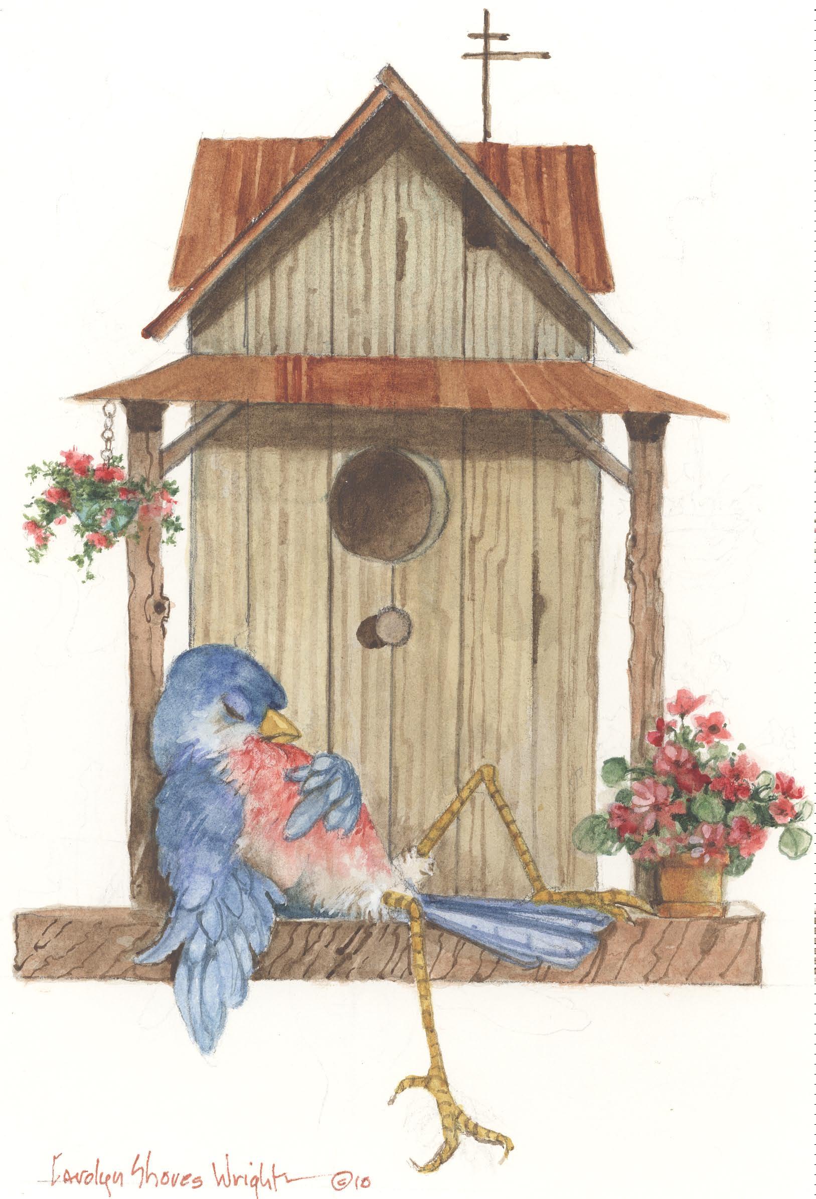 Bird Life Carolyn Shores Wright