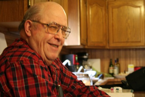 Dad at Easter one year - probably my favorite photo of him. Captured who he was pretty well.
