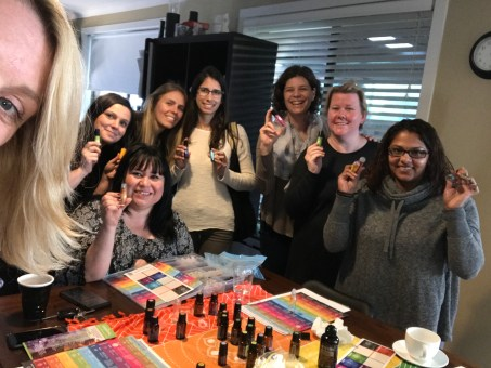 more chakra workshoppers. We are a balanced group now :D