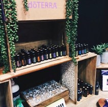 dōTERRA essential oils display