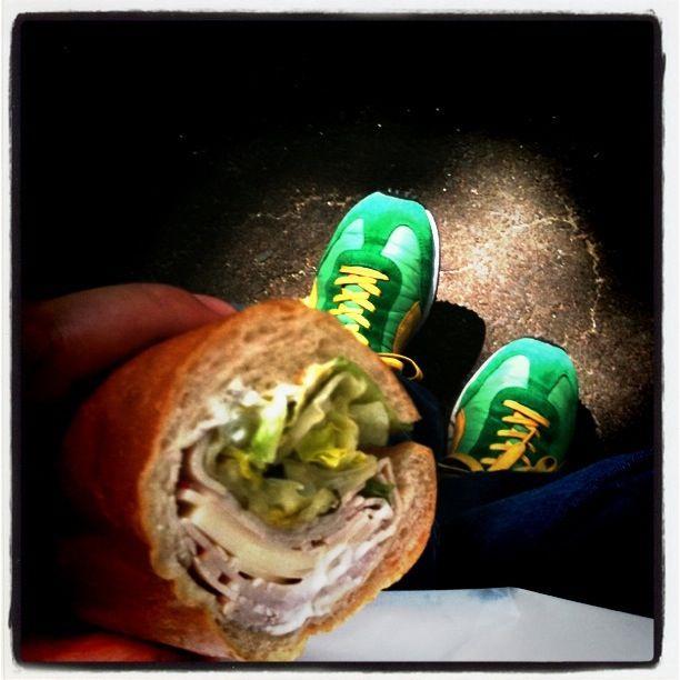 A photograph of a Vito's sandwich