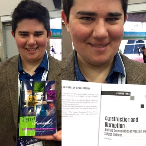 I visited my book at ACRL 2015 in Portland, Oregon