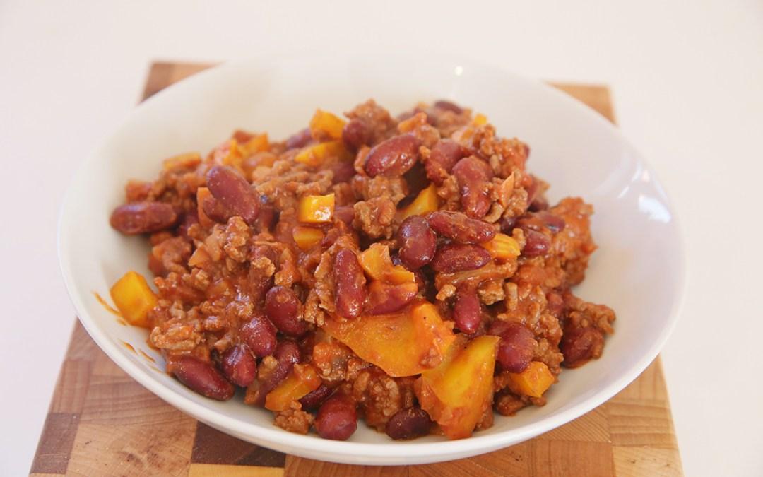 Recette du Chili con carne : un repas rapide quand on a pas le temps.
