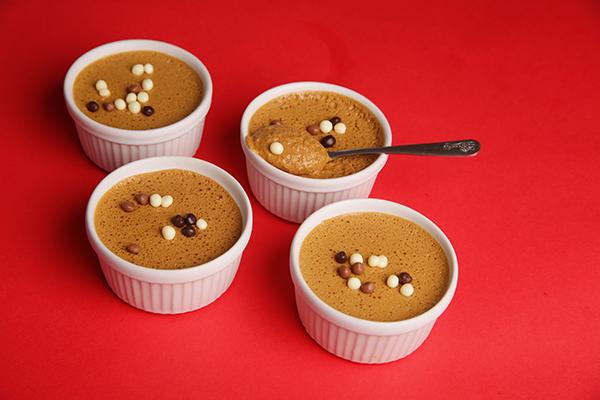 Mousse au chocolat praliné : rapide et gourmand