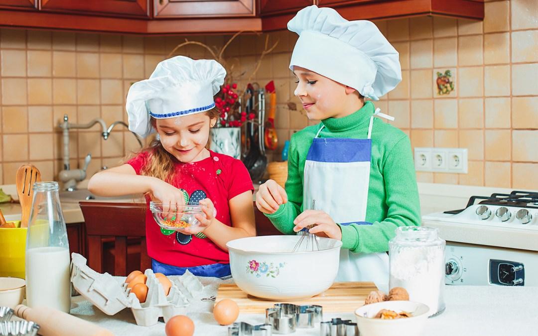Atelier culinaire pour l'anniversaire de votre enfant