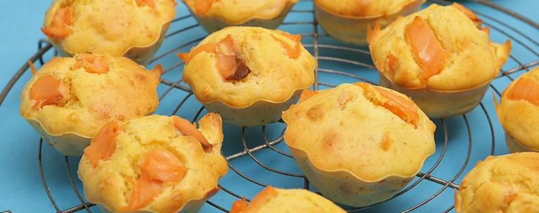 muffins au saumon