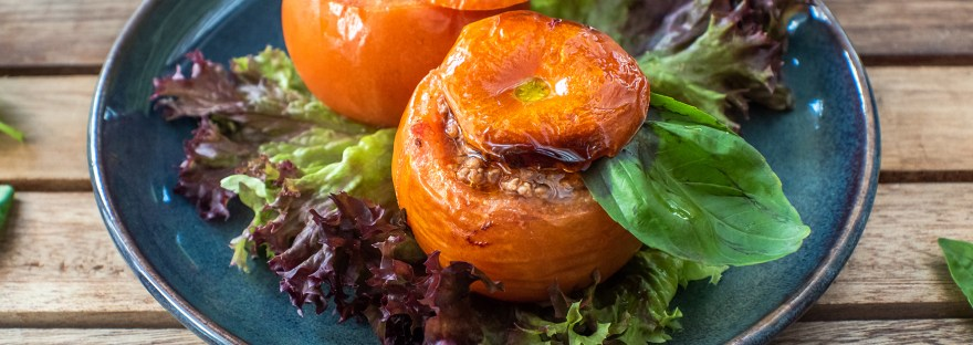 tomate farcie : un repas rapide