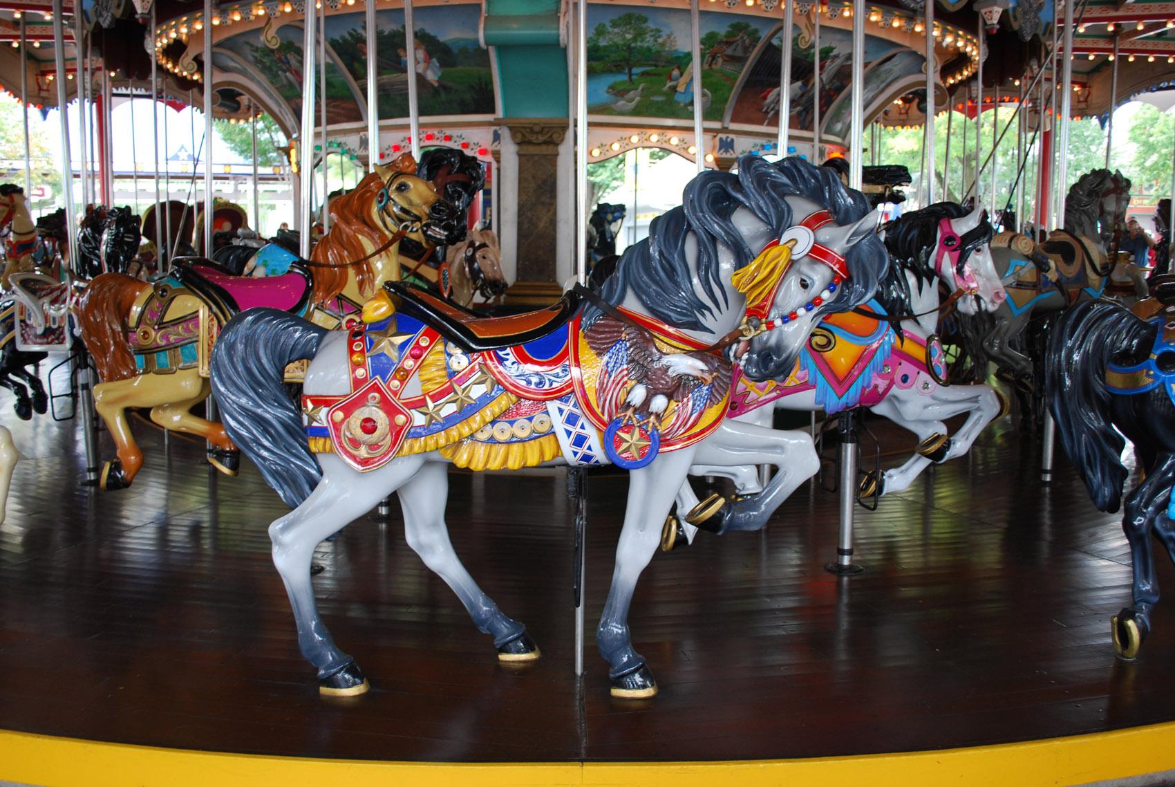 Beautiful Carousel Horses We Wish Were Alive Cowboy