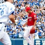 岡田、CSローテに黄信号…緒方監督「他の投手にチャンスがいく」