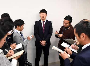 薮田が243%増の4800万円でサイン「想像できないくらいの評価」