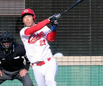 中村奨成、『初』本塁打に4安打の活躍!惜しくも、サイクル安打逃す