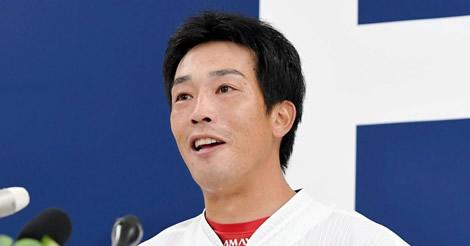 天谷、引退会見「黒田さんとお立ち台に上がれたのが一番、思い出に」