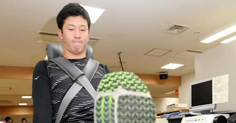 ドラ1・小園、太もも筋力で田中広輔を上回る!新人8選手が体力測定