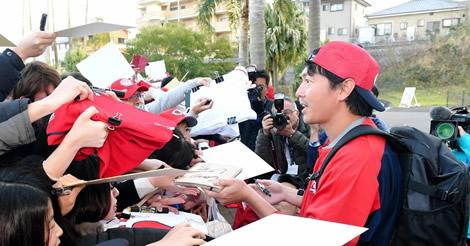 長野効果で大盛況!6500人のファン集結、即席『サイン会』も開催