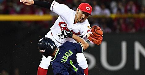 菊池涼介と山田哲人の守備数値比較。19年、鉄壁の二塁手はどっち?
