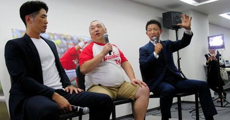 梵氏が引退報告会!背番号6の後継者・安部には、FA移籍の勧め!?