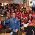 赤松コーチが銀座でトークショー、引退を語る「力、及ばずなんです」
