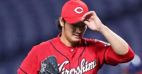 床田、2回3失点でKO…佐々岡監督は苦言「ただ投げているだけ…」
