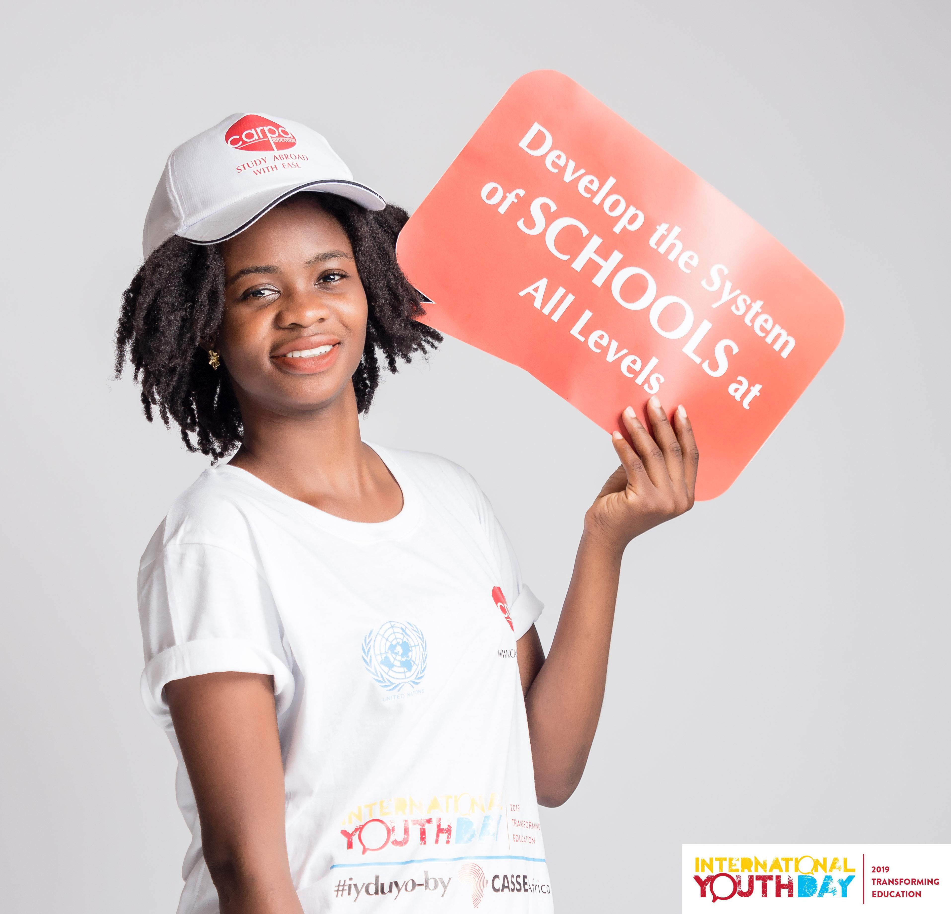 United Nations International Youth Day 2019 iyduyo
