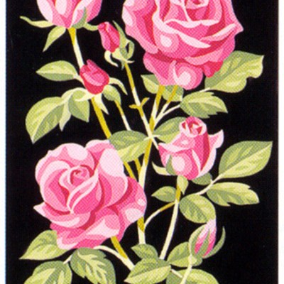 0264_rózsa fekete háttéren