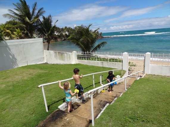 San Juan with kids