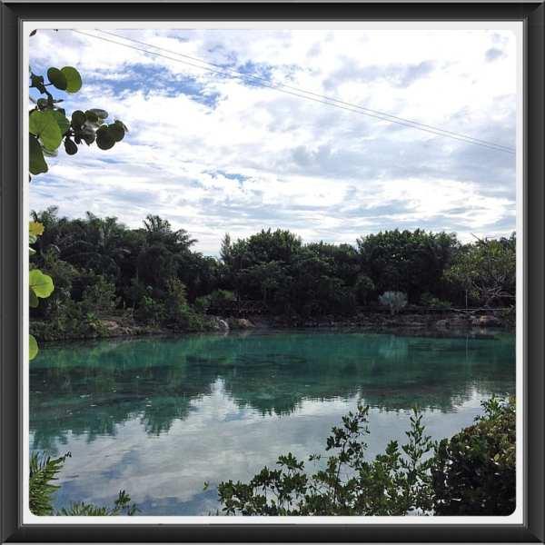 Chankanaab Park lagoon