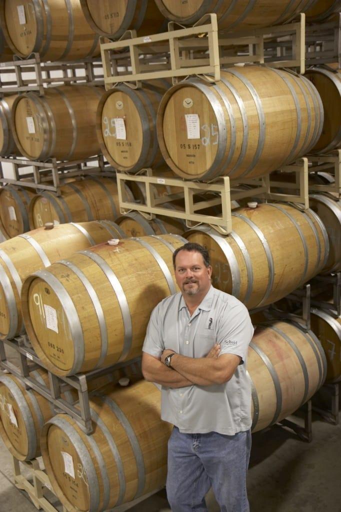 Scheid Vineyards: David Nagengast, Scheid Vineyards winemaker