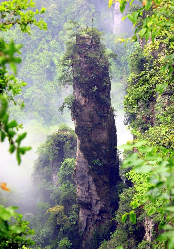 China S Hidden Gem Zhangjiajie The Hallelujah Floating