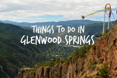 things to do in glenwood springs