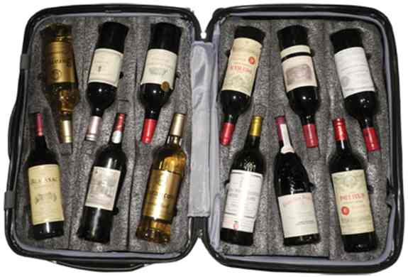 A Guide to Traveling Home with Wine: Tip three, use the VinGardeValise wine suitscase