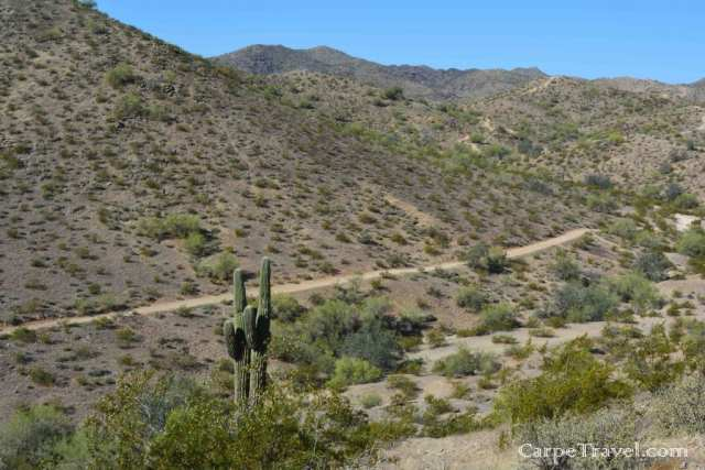 South Mountain Park and Preserve hiking trails in Phoenix