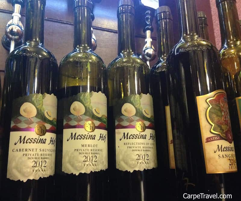 Messina Hoff has been included in Carpe Travel round up the best wineries in Texas Hill Country to visit.