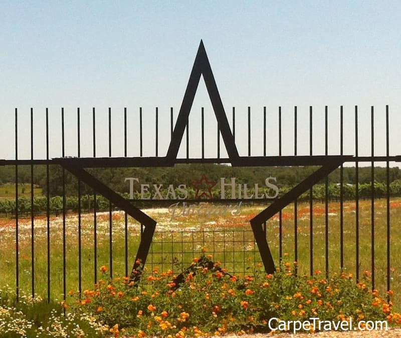 Texas Hills Vineyard has been included in Carpe Travel round up the best wineries in Texas Hill Country to visit.