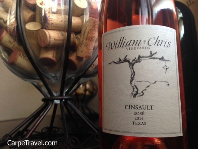 William Chris Vineyard has been included in Carpe Travel round up the best wineries in Texas Hill Country to visit.