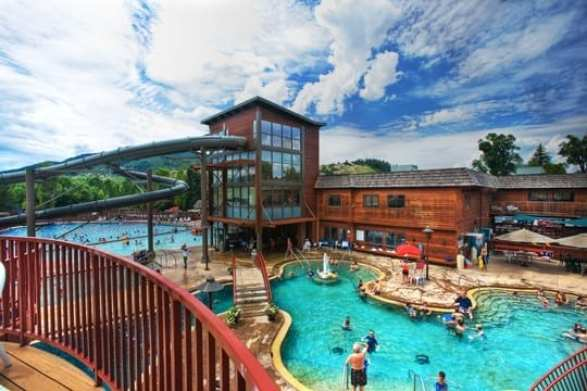 Top Hot Springs in Colorado: Old Town Steamboat Hot Springs
