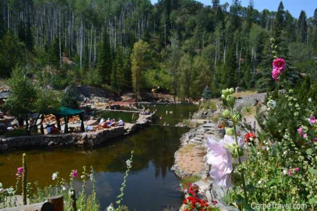 Top Hot Springs in Colorado: Strawberry Park Hot Springs