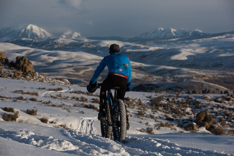 Things to do in Crested Butte Colorado besides skiing: Fat Biking in Crested Butte is a great thing to do!