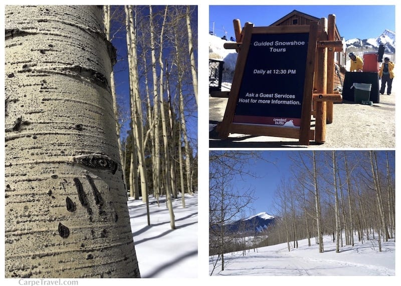 Things to do in Crested Butte Colorado Besides Skiing: Snowshoe tours and snowshoeing trails on your own. Click over for other ideas on things to do in Crested Butte.