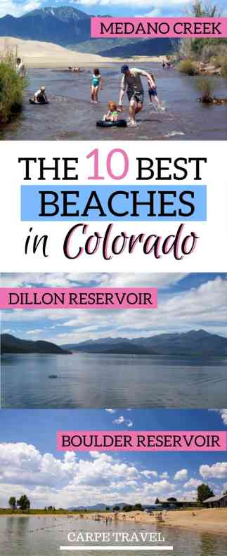10 best beaches in Colorado