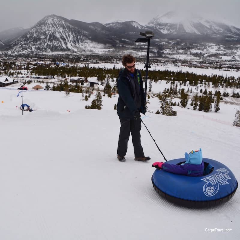Things to do in Breckenridge...besides skiing. GO TUBBING!!!