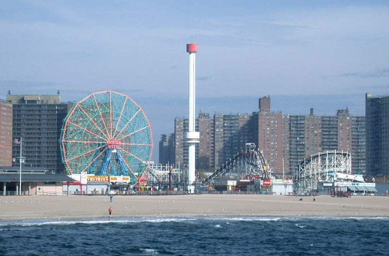 Coney Island is a destination you won't want to miss if you're visiting Brooklyn. It's the widest beach in the area and boasts amusement rides and entertainment that will bring smiles to the young and the young at heart. Click over for you Brooklyn Travel Guide.